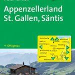 Appenzellerland St Gallen Sntis Wanderkarte GPS genau 140000 KOMPASS Wanderkarten 150x150 - Appenzellerland - St. Gallen - Säntis: Wanderkarte. GPS-genau. 1:40000 (KOMPASS-Wanderkarten)