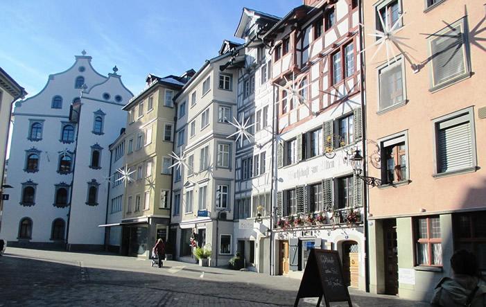 Altstadt Sankt Gallen - St. Gallen - Kantonshauptstadt mit vielen Gesichtern